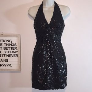 NTW Fredrick's of Hollywood Sequence Dress